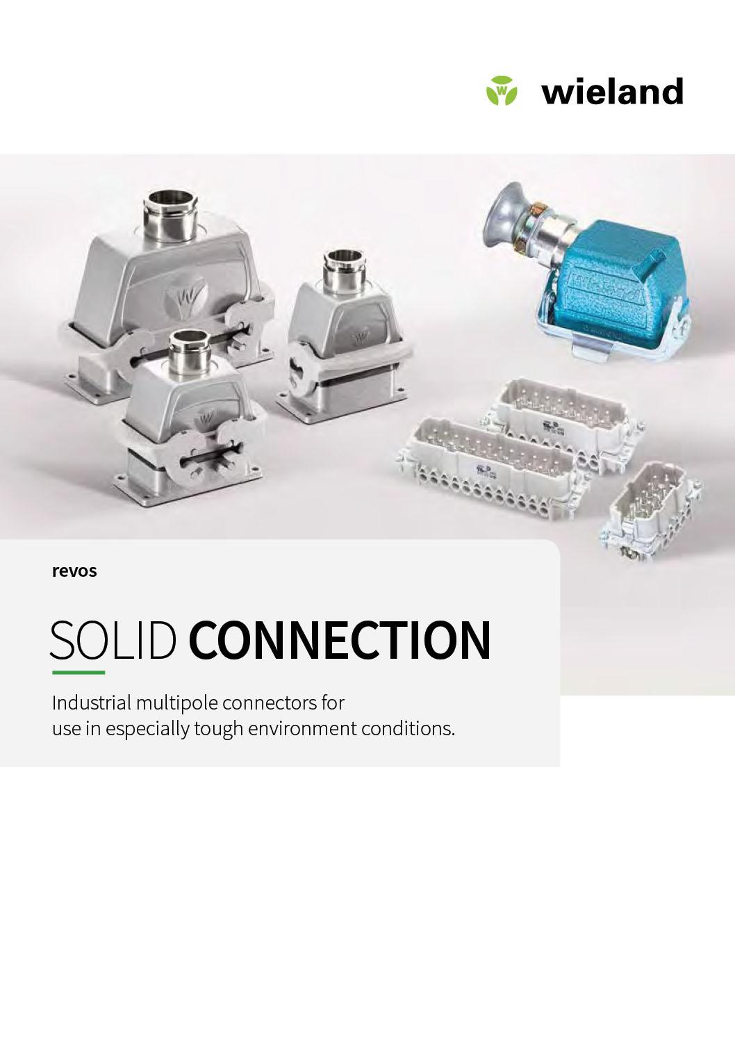 Wieland Solid Connection supplied by ElectroMechanica